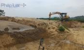 Thanh Hóa: Trưởng thôn lập bãi khai thác cát lậu