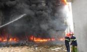 Thanh Hóa: Nhà máy bia bốc cháy dữ dội