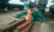 Thanh Hóa: Thu giữ gần 1,5m3 gỗ chở lậu