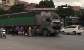 Thanh Hóa: Xe máy va chạm với xe đầu kéo, 2 người tử vong