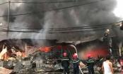 Thanh Hoá: Cháy chợ tạm Còng, hàng trăm ki-ốt bị thiêu rụi