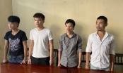 Thanh Hóa: Bắt giữ 4 con nghiện chuyên vác dao đoạt tiền chủ quán