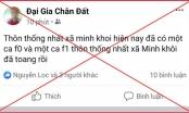 Đăng tin bịa đặt trên facebook, nhiều cá nhân ở Thanh Hóa bị xử phạt