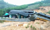 Quảng Ngãi: Lở núi đè sập nhà công vụ cho giáo viên ở miền núi