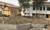 Bắc Từ  Liêm (Hà Nội): Công trình trường học hàng chục tỷ ngổn ngang, học sinh vừa học vừa… run
