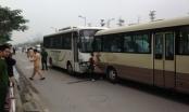 Hà Nội: Xe khách đưa tang gây tai nạn liên hoàn, 1 người tử vong