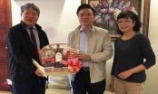 Bộ trưởng Lê Thành Long thăm, chúc Tết các gia đình nguyên lãnh đạo Bộ