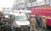 Cháy tòa nhà 4 tầng ở Ấn Độ, 43 người chết