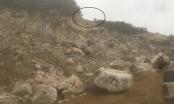 """Vụ tai nạn tại mỏ đá Cty Thông Đạt (huyện Thanh Liêm, Hà Nam): Không có chuyện khai thác đá kiểu """"hàm ếch"""""""