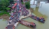 UBND tỉnh Hải Dương chỉ đạo 'nóng vụ hàng nghìn người dân chen nhau qua bến phà Tuần Mây trước đại dịch Covid-19