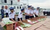Cảnh sát biển Vùng 1 bắt giữ gần 50 nghìn bao thuốc lá lậu các loại