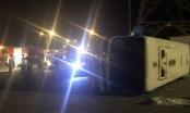 Quảng Ninh: Xe chở công nhân lật ngang,1 người tử vong tại chỗ, hàng chục người bị thương nặng