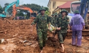 Hiện trường vụ sạt lở vùi lấp 22 cán bộ, chiến sỹ tại Đoàn kinh tế - Quốc phòng 337