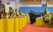 Lễ viếng, truy điệu 22 cán bộ, chiến sĩ Đoàn Kinh tế Quốc phòng 337