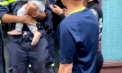 Quảng Ninh: Giải cứu cháu bé 2 tuổi bị mắc kẹt trong nhà