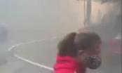 Quảng Ninh: Lửa bùng cháy tại chợ Hạ Long, nhiều tiểu thương hoảng hốt