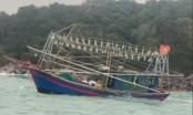 Clip cứu vớt thành công 03 thuyền viên tàu cá gặp nạn trên biển tại Quảng Ninh