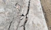 Quảng Ninh: Công trình thủy lợi chưa nghiệm thu đã sụt lún, nứt toác
