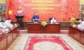 Chủ tịch Quốc hội Vương Đình Huệ làm việc với Ban Thường vụ Thành uỷ Hải Phòng