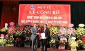 PGS.TS Nguyễn Quốc Huy được bổ nhiệm Giám đốc Học viện Y- Dược học cổ truyền Việt Nam