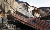 TP HCM: Dãy nhà trọ bị lửa thiêu rụi sau tiếng nổ lớn