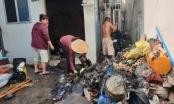 TP HCM: Căn nhà trong hẻm bốc cháy ngùn ngụt sau tiếng nổ lớn