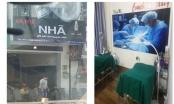 Phát hiện thêm một cơ sở phẫu thuật thẩm mỹ trá hình quán cà phê ở TP HCM