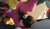 Con gái khóc ngất ôm thi thể cha bị tai nạn giao thông ở cầu Phú Mỹ