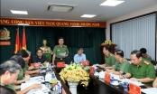 Thứ trưởng Bộ Công an Trần Quốc Tỏ làm việc với Công an tỉnh Đồng Nai