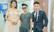 Phan Thị Mơ diện váy trễ nải vai trần đến chúc mừng Phạm Hồng Minh ra MV