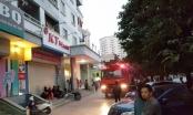 Hà Nội: Cháy ở chung cư trên đường Nguyễn Phong Sắc làm nhiều người hoảng loạn