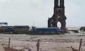 Nam Định: Ảnh hưởng bão số 10, một số huyện bị cô lập do mưa lớn