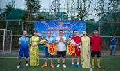 Giao hữu bóng đá giữa FC Phóng Viên Việt Nam và UBND Quận Cầu Giấy