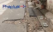 Công ty nước sạch Hà Nội đào hố bẫy người đi đường