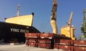 Kiểm tra 160 tấn bùn thải bauxite Formosa nhập từ Trung Quốc