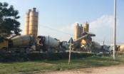 Thanh Trì: Trạm trộn bê tông không phép tồn tại hàng chục năm trên đất nông nghiệp không bị xử lý