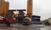 Trạm bê tông Sông Đà - Việt Đức không phép hoạt động ngang nhiên thách thức huyện Hoài Đức?