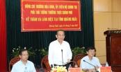 Phó Thủ tướng Trương Hòa Bình làm việc với lãnh đạo tỉnh Quảng Ngãi