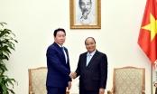 Thủ tướng Nguyễn Xuân Phúc tiếp Tập đoàn SK Group, Hàn Quốc