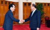 Thủ tướng tiếp Đoàn Phòng Thương mại và Công nghiệp Osaka