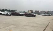 Thanh Trì: Đất dự án hàng nghìn m2 biến thành bãi xe không phép