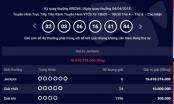 Kết quả xổ số Vietlott 4/4: Jackpot trị giá hơn 16 tỷ vẫn bị chê