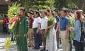 Đoàn công tác Báo PLVN viếng Nghĩa trang liệt sĩ Việt – Lào, khu di tích Ngã ba Đồng Lộc