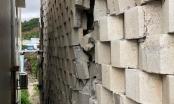 Tường thành khổng lồ trái phép ở Nha Trang bắt đầu đổ