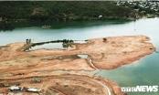 Công ty Trung Nam đổ đất lấn sông Cu Đê: Thi công khi chưa có giấy phép xây dựng