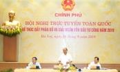 Thủ tướng chủ trì hội nghị bàn cách giải ngân vốn đầu tư công