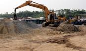 Bắc Ninh: Kiểm tra 2 dự án bãi tập kết cát sỏi có dấu hiệu vi phạm tại huyện Quế Võ