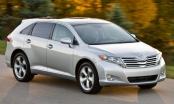 Toyota Venza dòng xe xuống giá sâu kỷ lục sau 10 năm sử dụng