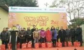 Hapro mang chợ tết đến với người dân ngoại thành Hà Nội