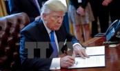 Ông Donald Trump ký sắc lệnh xây bức tường dọc biên giới Mỹ-Mexico